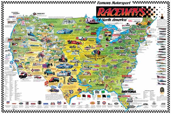 Map Of Tourist Attractions In Usa